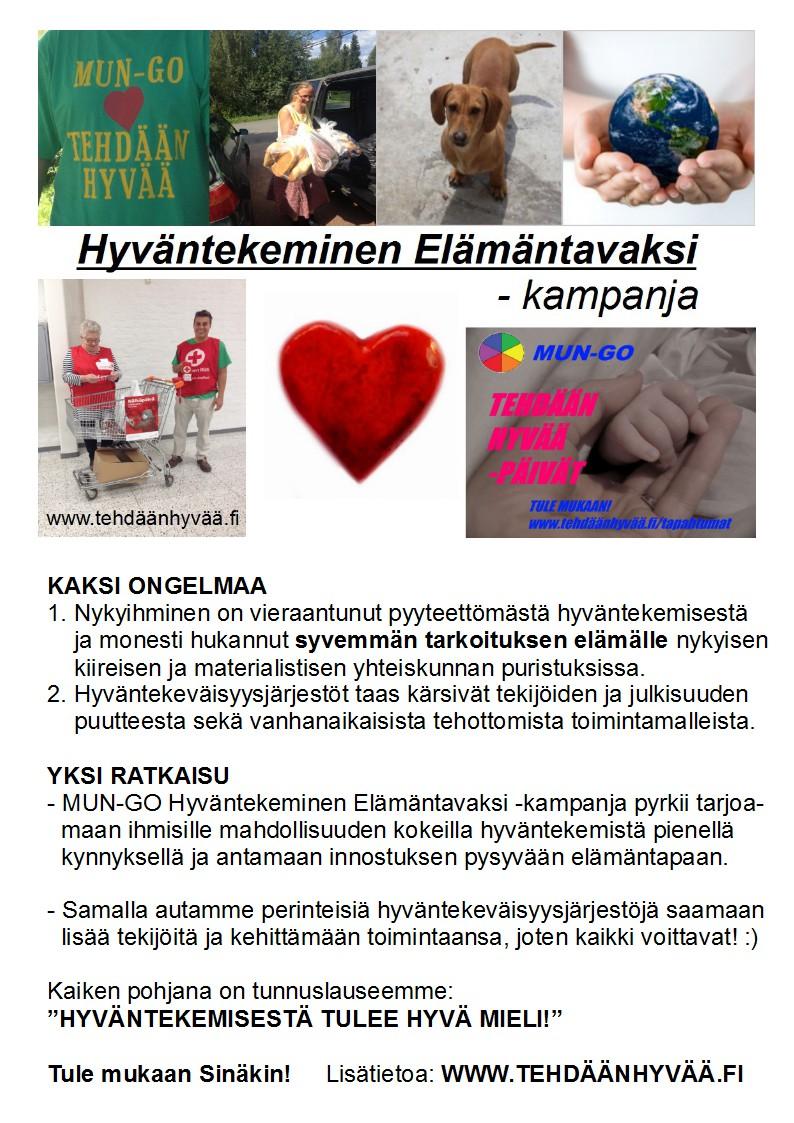 MUN-GO TEHDÄÄN HYVÄÄ ESITE 1